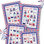 Free 4Th Of July Bingo Printable   Lil' Luna   Free 4Th Of July Printables