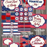 Free 4Th Of July Party Printablesdesignsserendipity | Catch   Free 4Th Of July Printables