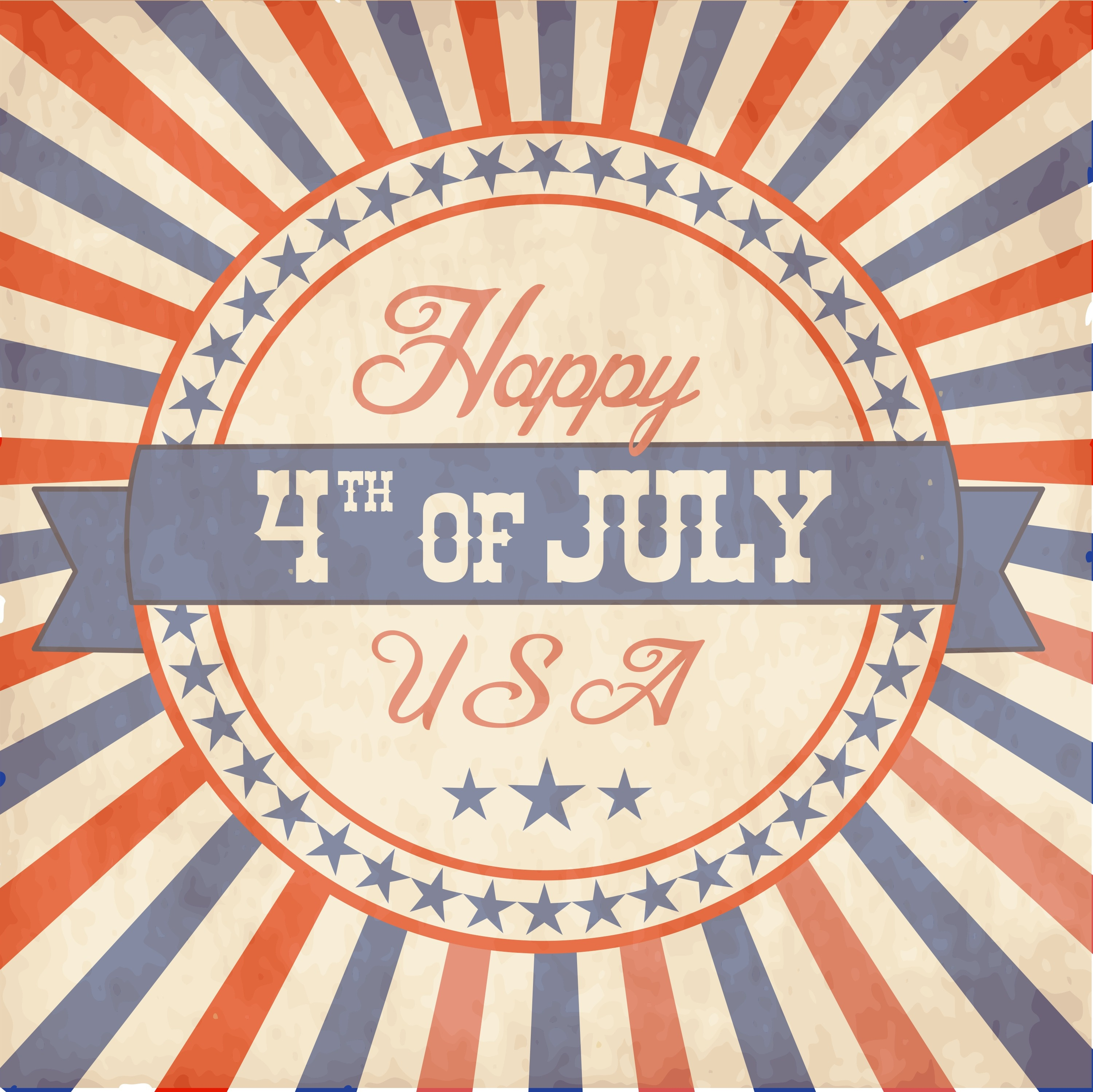 Free 4Th Of July Printable Card - Mommy's Notebook - Free Printable 4Th Of July Pictures