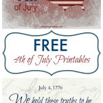 Free 4Th Of July Printables   Toot Sweet 4 Two   Free 4Th Of July Printables
