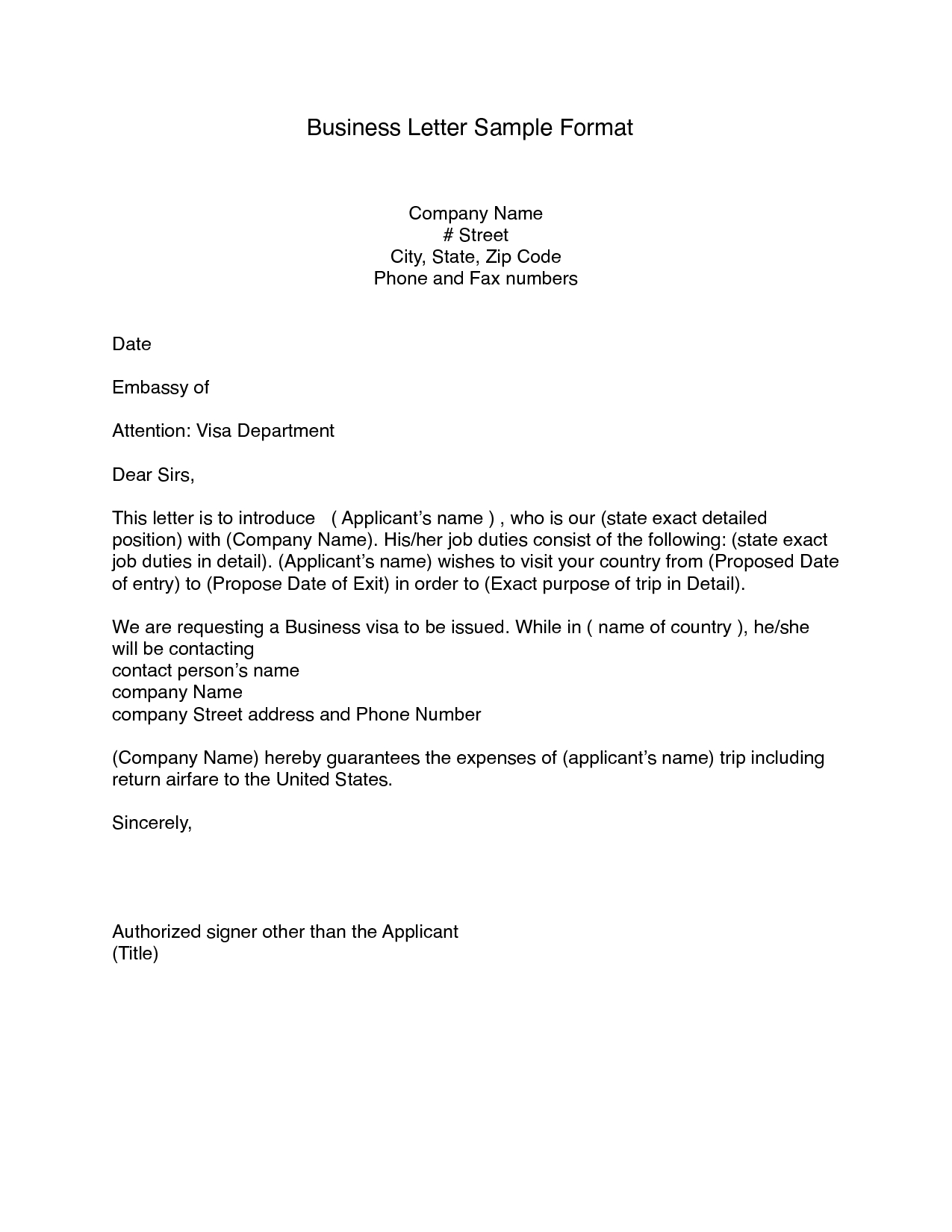 Free 8+ Printable Business Letter Format Block Style Pdf Download - Free Printable Cover Letter Format