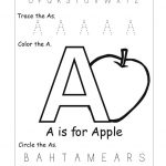 Free Abc Worksheets For Pre K | Activity Shelter   Free Pre K Printables