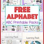 Free Alphabet Abc Printable Packs   Fun With Mama   Free Abc Printables For Kindergarten