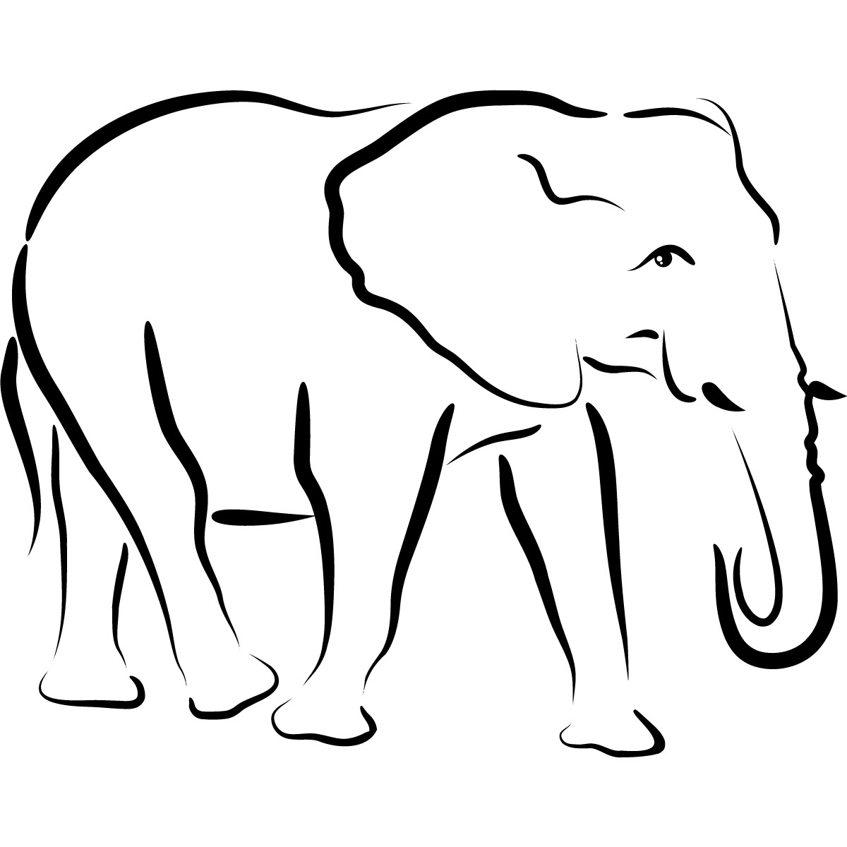 Free Animal Outline, Download Free Clip Art, Free Clip Art On - Free Printable Arty Animal Outlines
