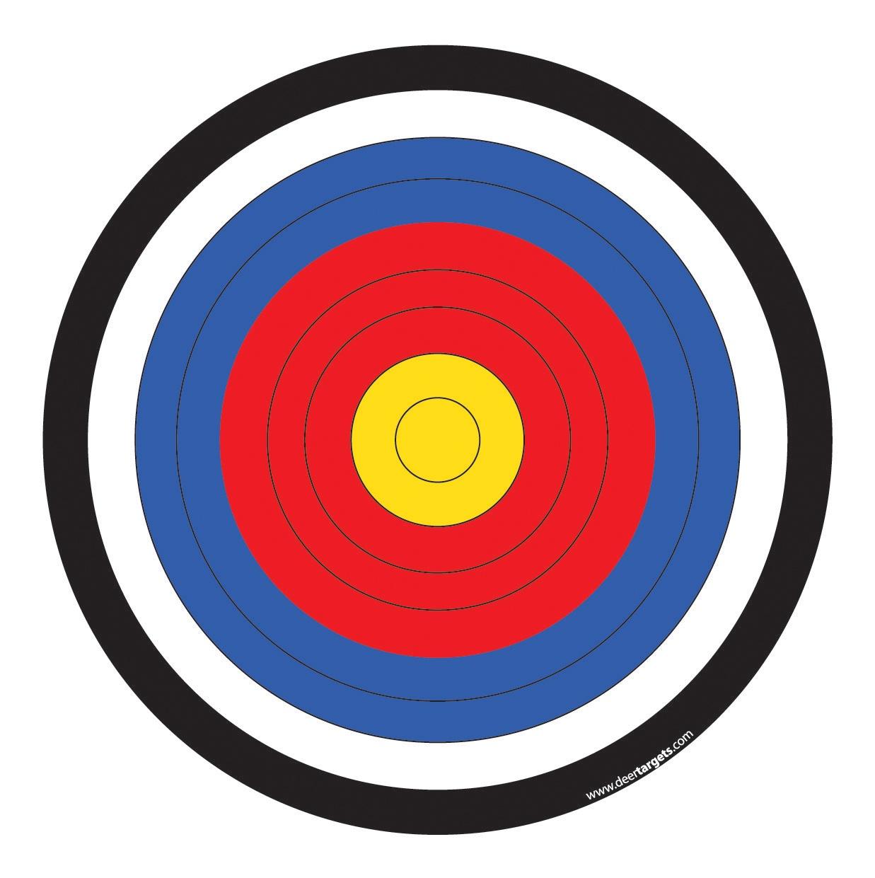 Free Archery Bullseye Cliparts, Download Free Clip Art, Free Clip - Free Printable Bullseye