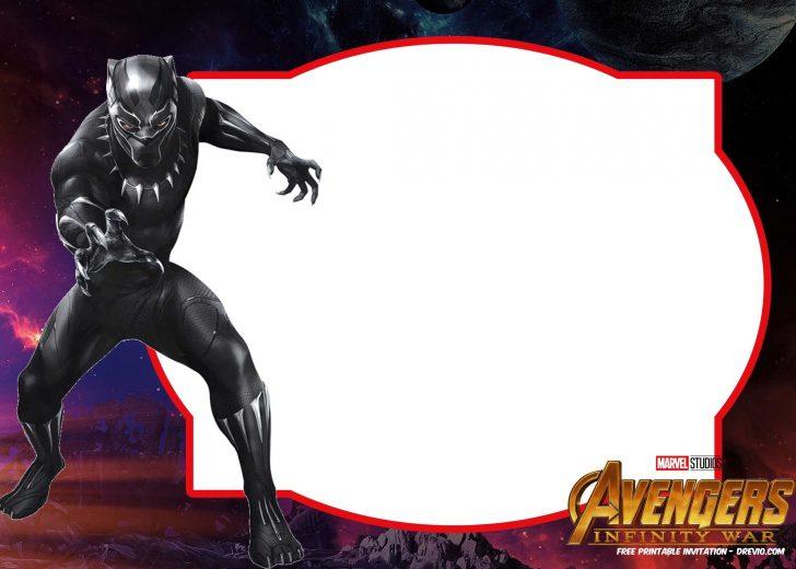 Avengers Printable Invitations Free