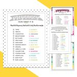 Free Baby Shower Candy Bar Game   4 Colors | Lil' Luna   Candy Bar Baby Shower Game Free Printable