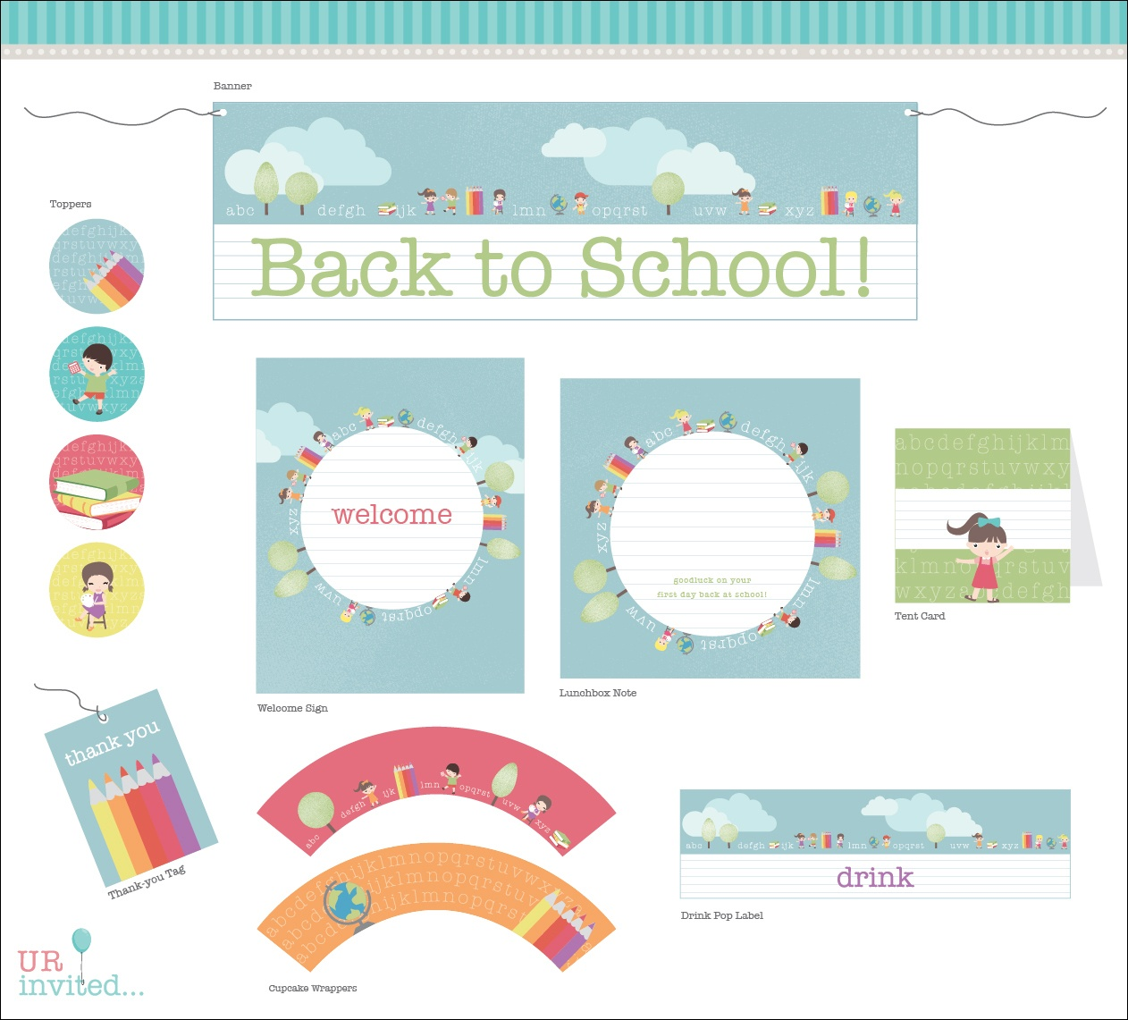 Free Back To School Printable From Urinvited | Catch My Party - Free School Printables