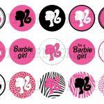 Free Barbie Logo, Download Free Clip Art, Free Clip Art On Clipart   Free Printable Barbie Cupcake Toppers