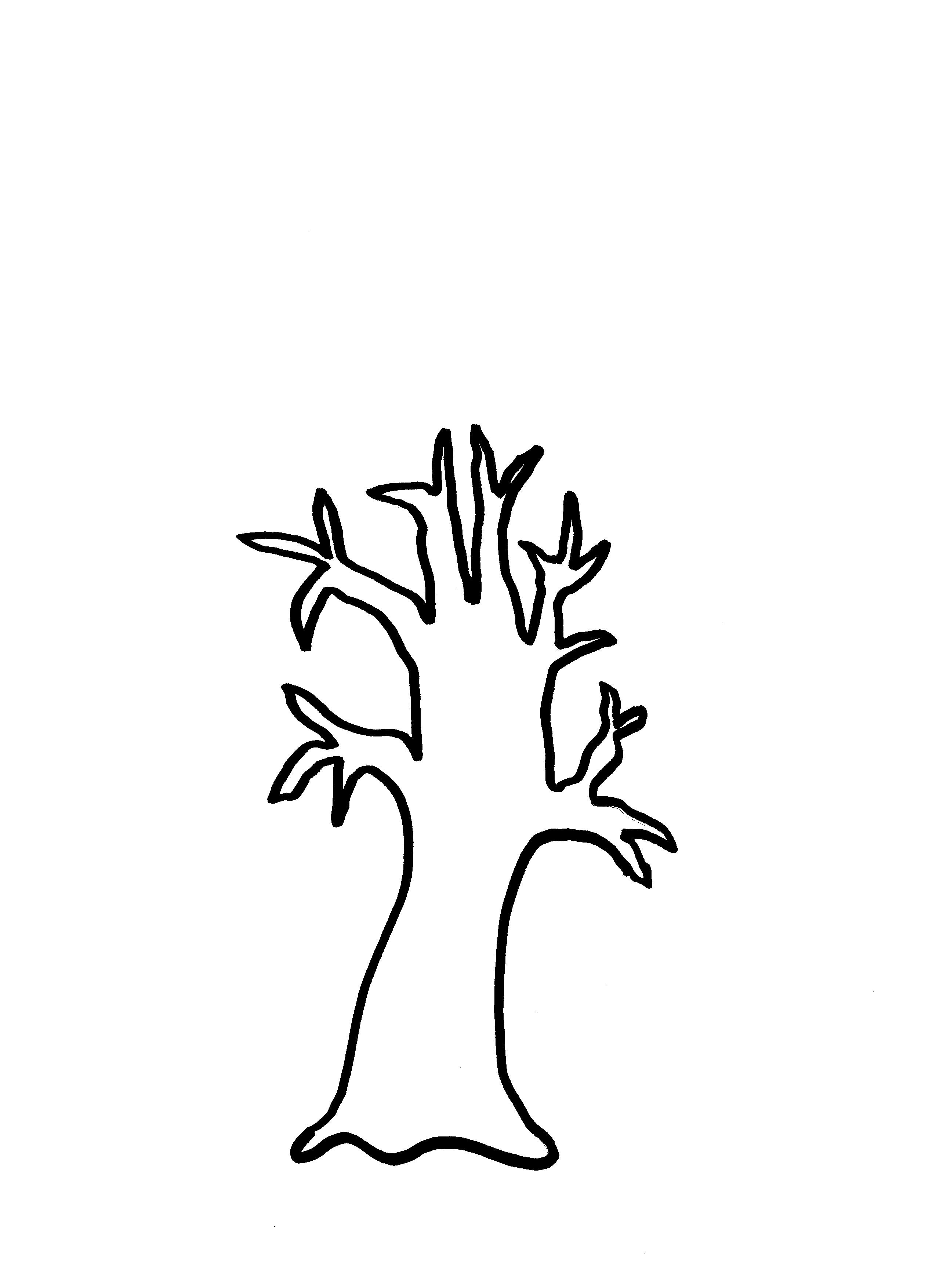 Free Bare Tree Template, Download Free Clip Art, Free Clip Art On - Free Printable Tree Template