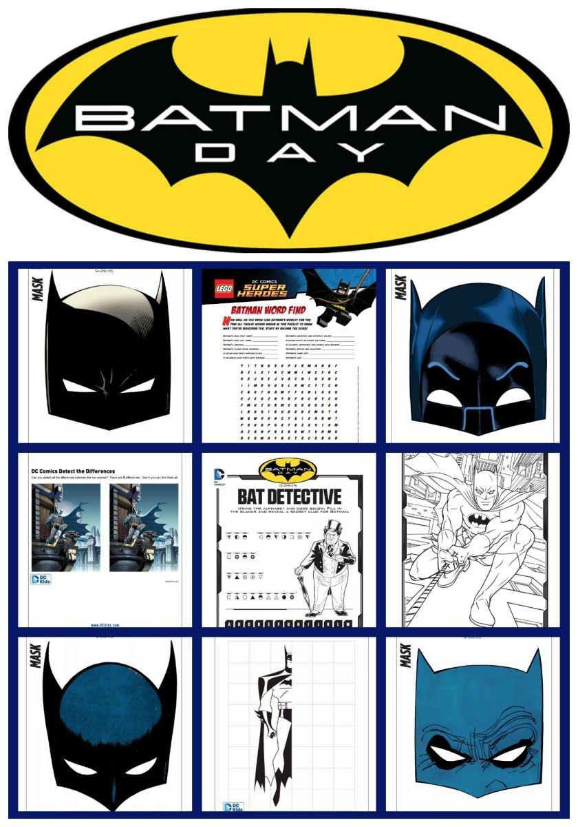 Free Batman Mask And Activity Printables - Today's Mama - Free Batman Printables