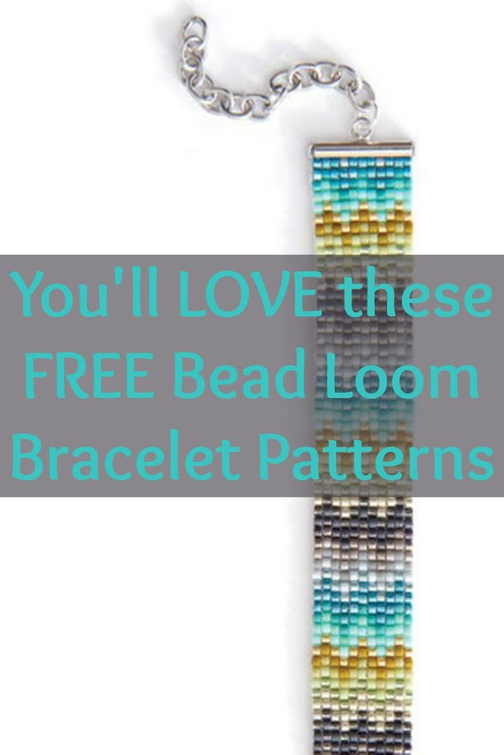 Free Beading Patterns You Have To Try   Bead Loom   Pinterest   Takı - Free Printable Bead Loom Patterns