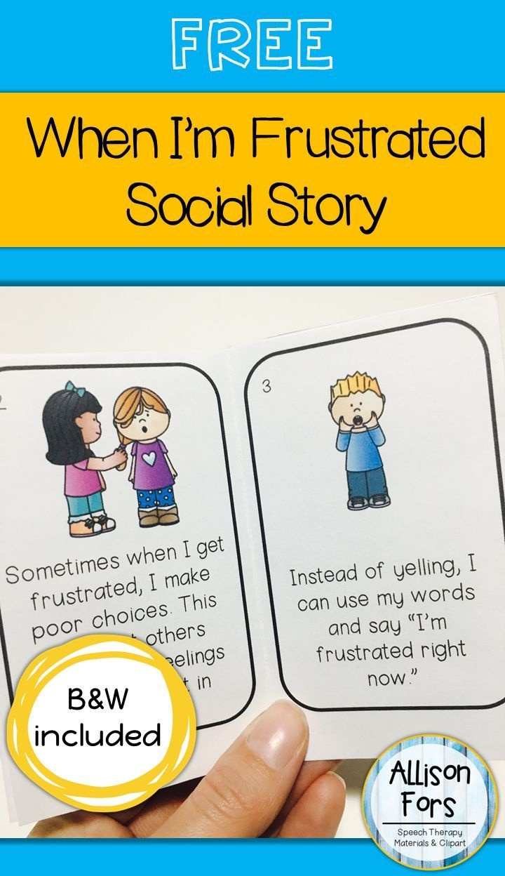 Free Behavior Social Story | Language Games Galore | Social Stories - Free Printable Social Story Template