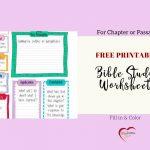 Free Bible Journal Key Worksheet – Bible Journal Love   Free Printable Kjv Bible Study Lessons