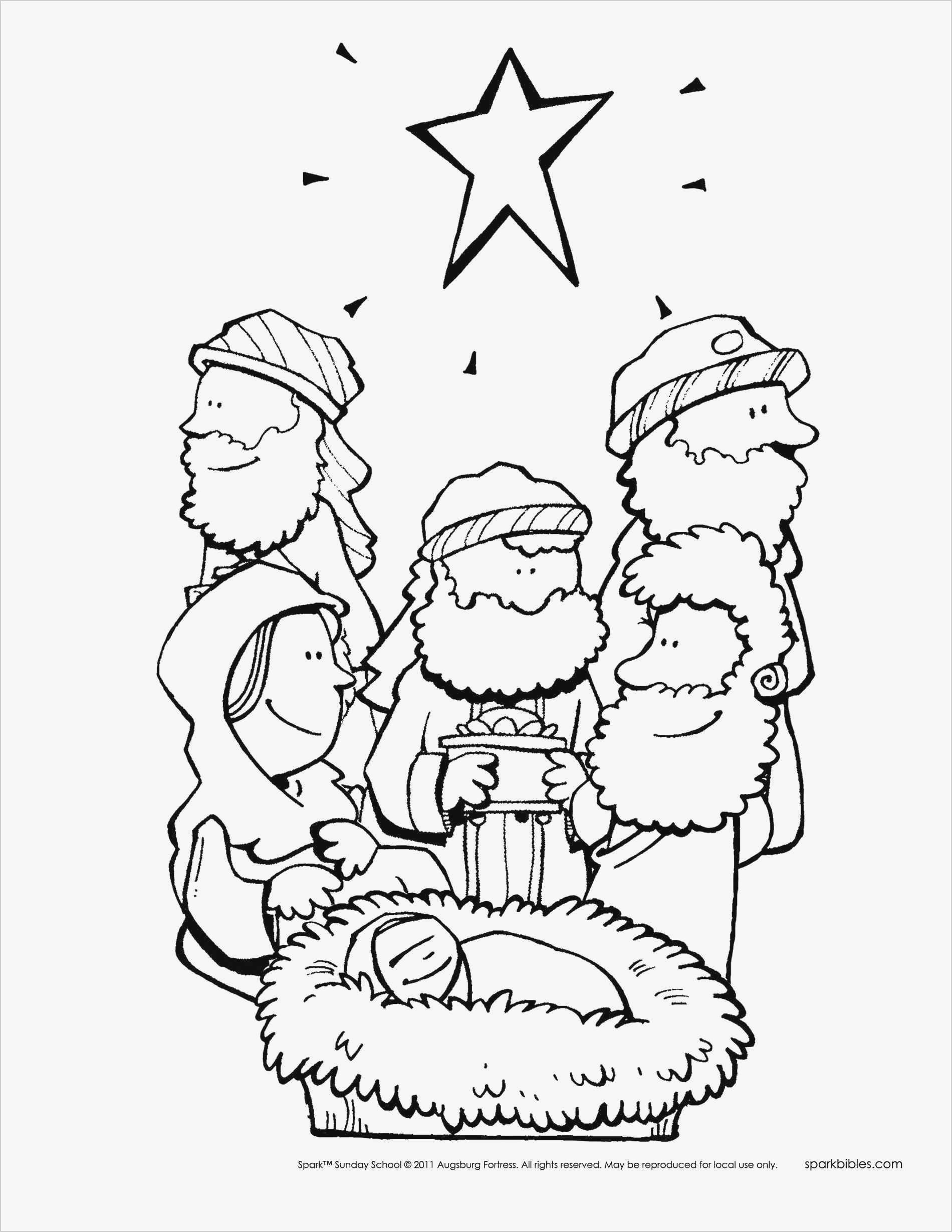 Free Bible Story Coloring Pages Awesome –· Printable Christmas - Free Printable Christmas Story Coloring Pages