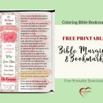 Free Bible Verse Coloring Bookmark Fits Bible Journal & Planner   Free Printable Bookmarks With Bible Verses