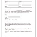 Free Bill Of Sale Car   Kaza.psstech.co   Free Printable Bill Of Sale For Car