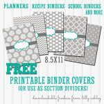 Free Binder Covers Printable Set | Preschool | Teacher Binder Covers   Free Editable Printable Binder Covers And Spines