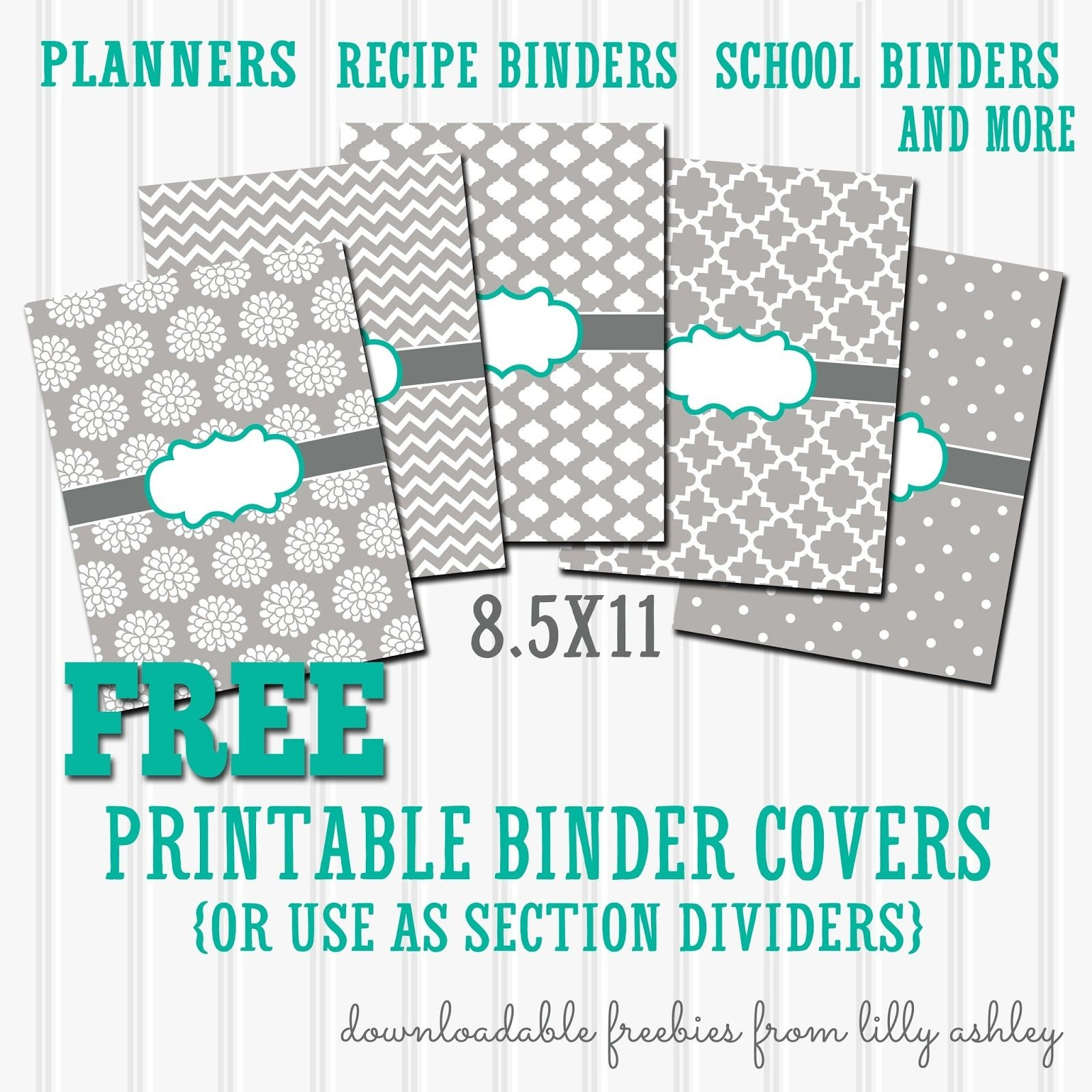 Free Binder Covers Printable Set | Preschool | Teacher Binder Covers - Free Editable Printable Binder Covers And Spines
