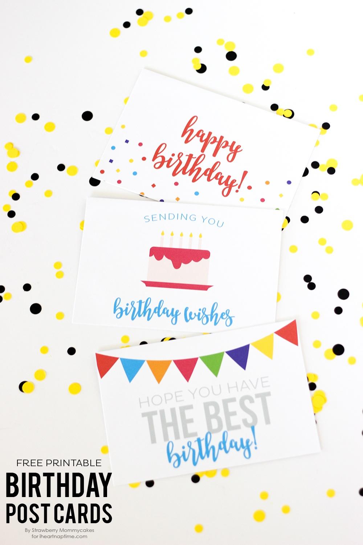 Free Birthday Printables - Eighteen25 - Free Birthday Printables