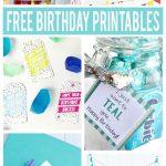 Free Birthday Printables | Party Ideas | Free Printable Birthday   Free Birthday Printables