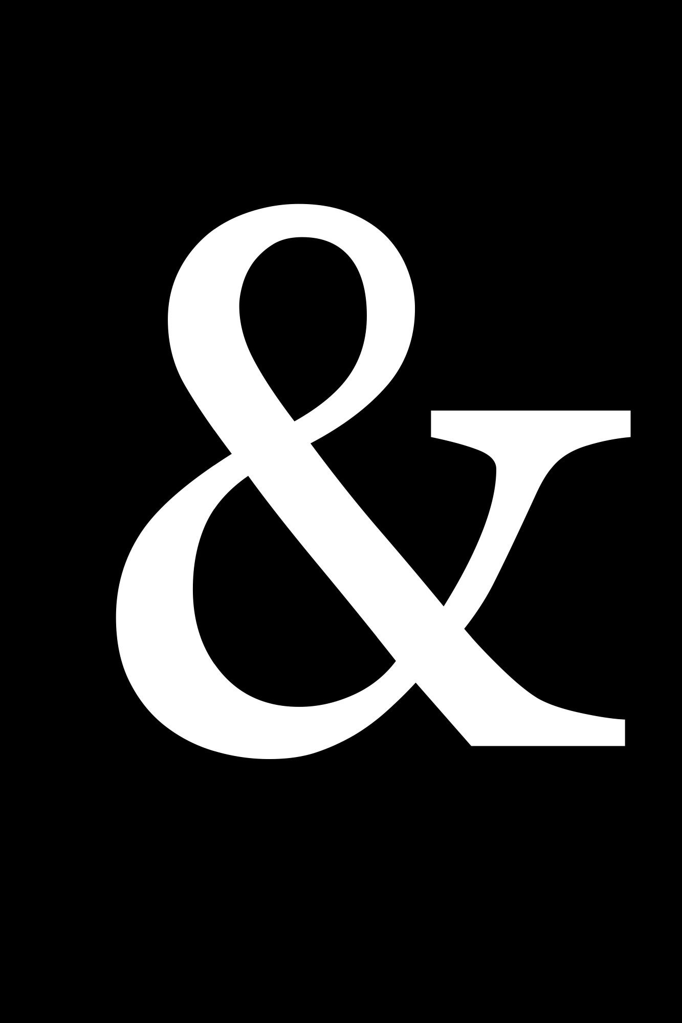 Free Black And White Printables | Art | Black, White Photography - Free Printable Ampersand Symbol