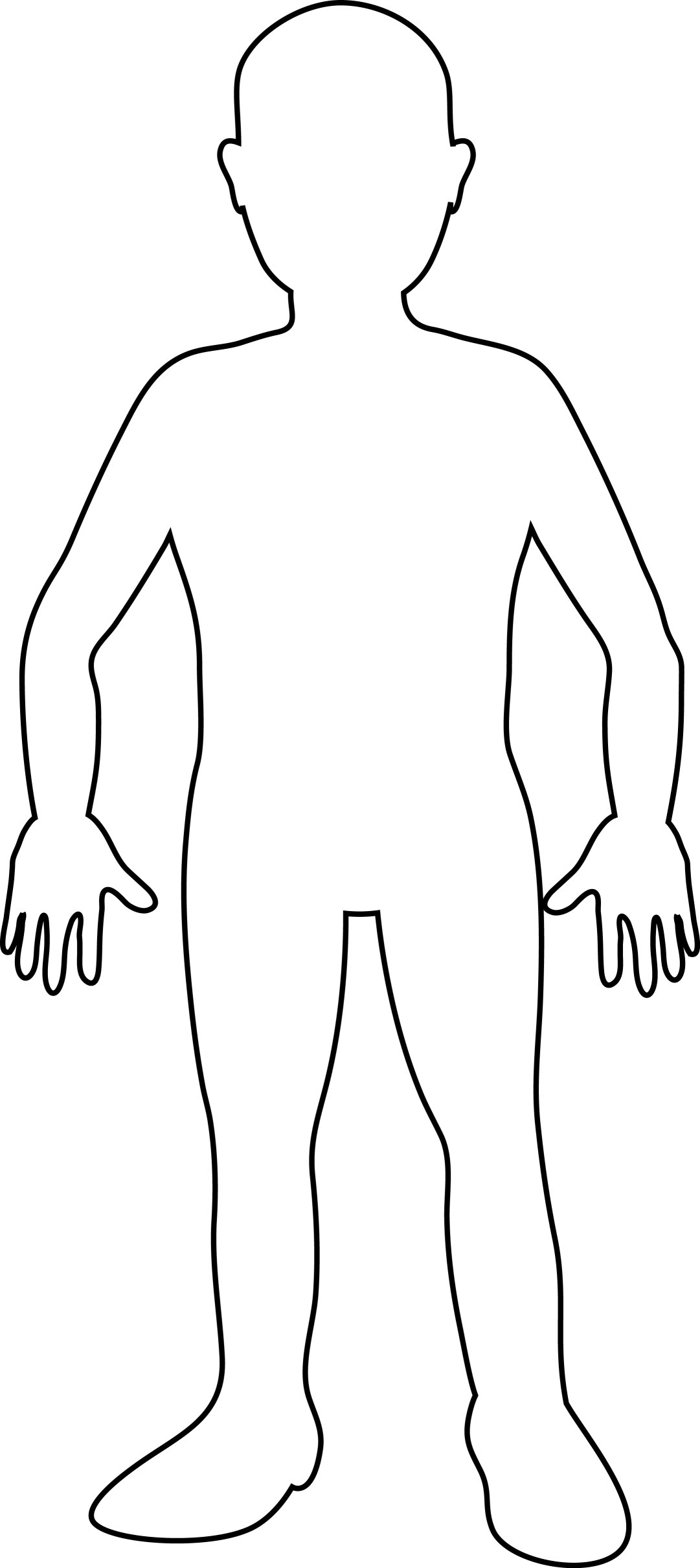 Free Blank Person Template, Download Free Clip Art, Free Clip Art On - Free Printable Person Template