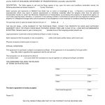 Free Blank Purchase Agreement Form Images   Agreement To Purchase   Free Printable Real Estate Purchase Agreement