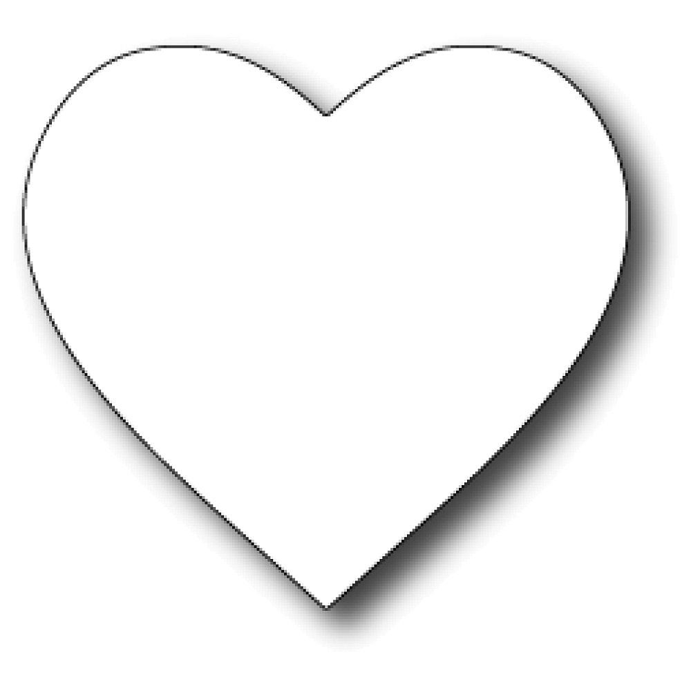 Free Broken Heart Coloring Pages, Download Free Clip Art, Free Clip - Free Printable Hearts