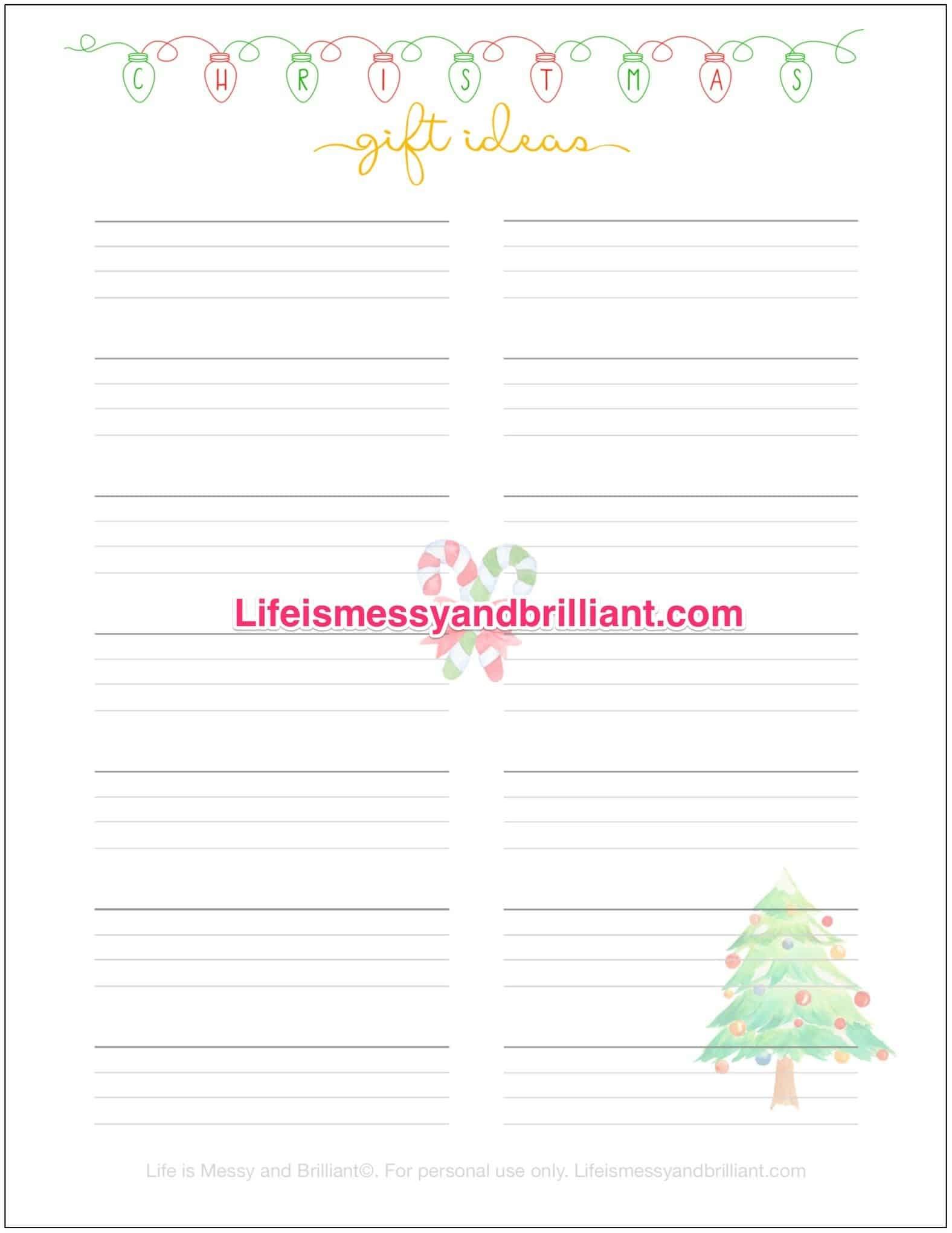 Free Bullet Journal Printables - Free Bullet Journal Printables