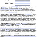 Free California Standard Residential Lease Agreement Template – Pdf   Free Printable California Residential Lease Agreement