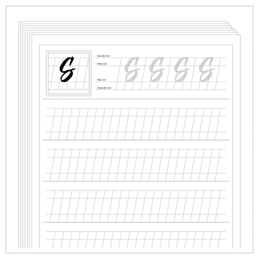 Free Calligraphy Worksheets Printable - Google Zoeken | Projects To - Free Calligraphy Printables