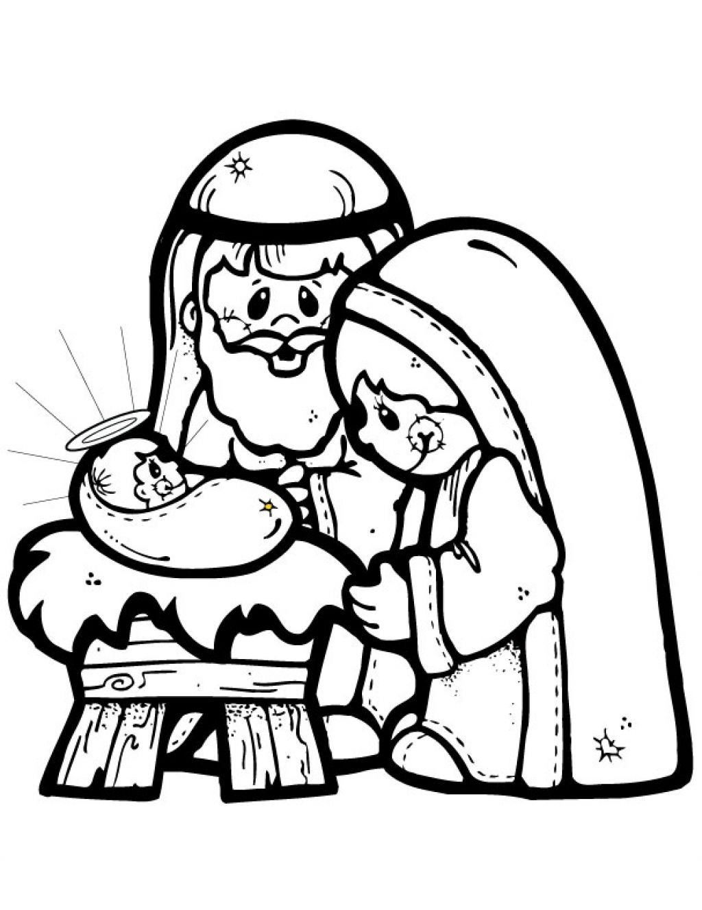Free Printable Nativity Story Coloring Pages | Free Printable