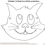 Free Cat Face Template, Download Free Clip Art, Free Clip Art On   Animal Face Masks Printable Free