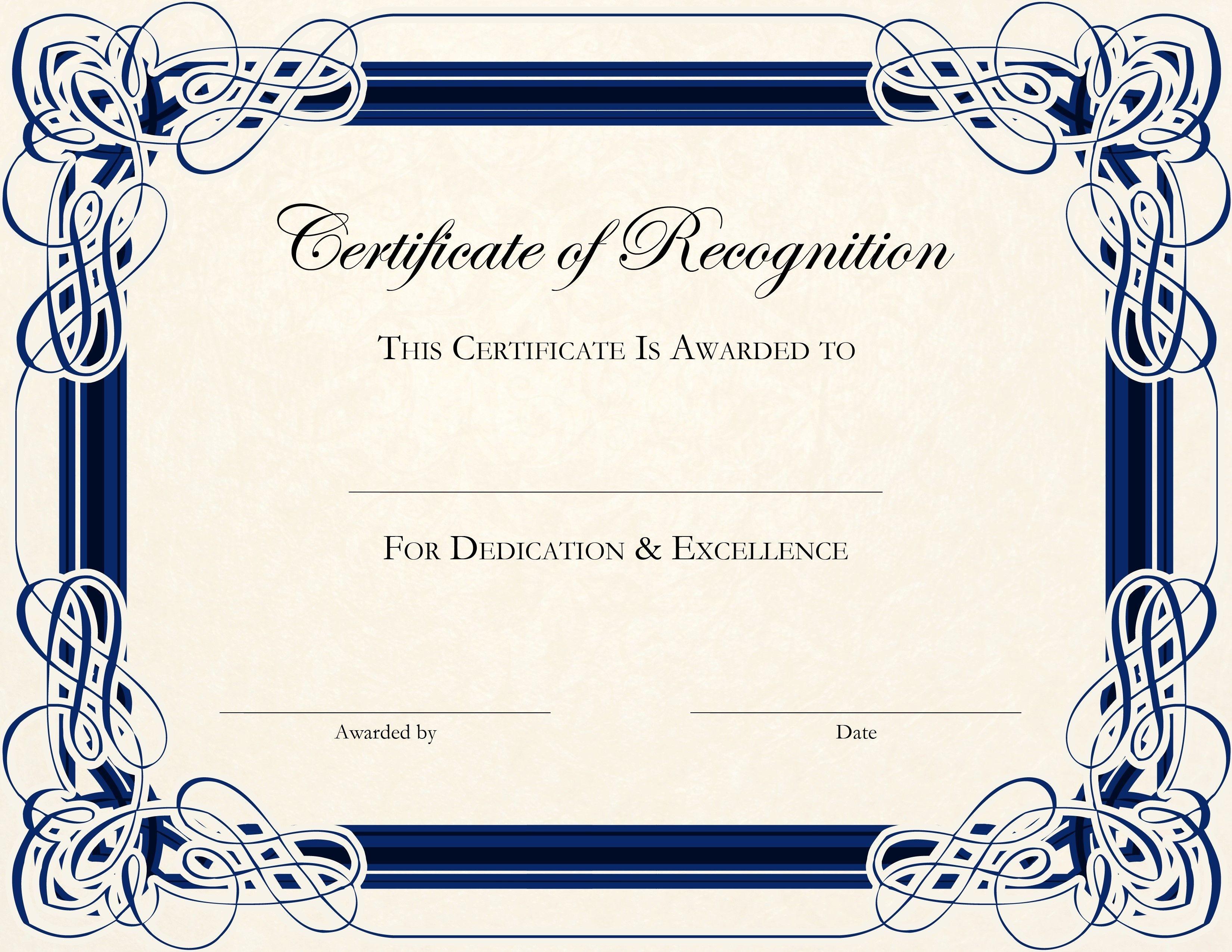 Free Certificate Printables - Tutlin.psstech.co - Best Costume Certificate Printable Free