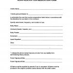 Free Child Care Forms To Make Starting Your Daycare Even Easier   Free Printable Daycare Forms For Parents