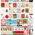 Free Christmas And Winter Mini Panner Stickers Printable   Free Printable Holiday Stickers