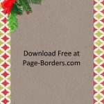 Free Christmas Border | Customize Online | Personal & Commercial Use   Free Printable Christmas Backgrounds