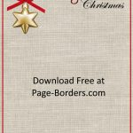 Free Christmas Border | Customize Online | Personal & Commercial Use   Free Printable Christmas Stationery For Kids