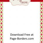 Free Christmas Border | Customize Online | Personal & Commercial Use   Free Printable Elf Stationery