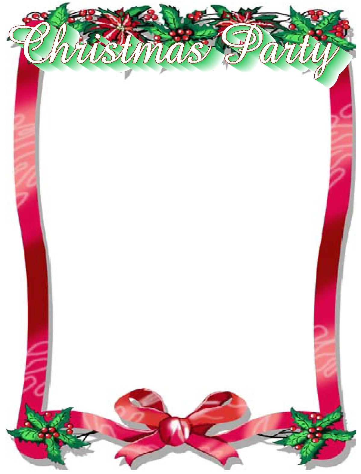 Free Christmas Border Templates | Free Download Best Free Christmas - Free Printable Christmas Programs