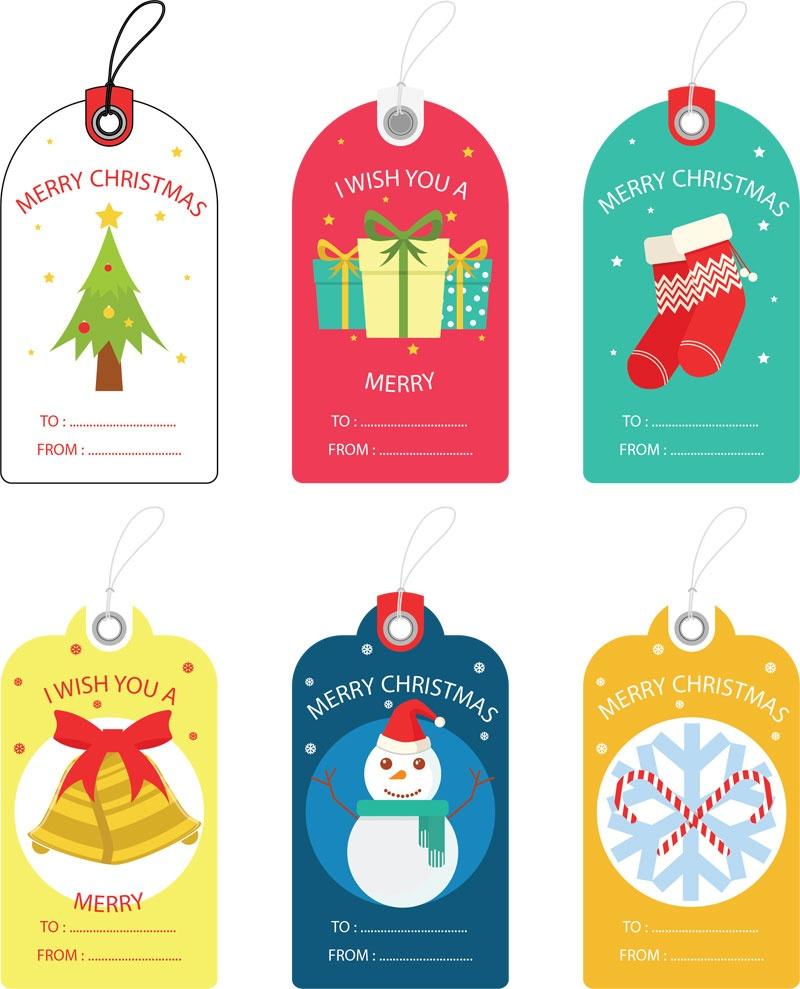 Free Christmas Gift Tag Templates - Editable & Printable - Free Printable Christian Christmas Gift Tags