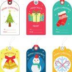 Free Christmas Gift Tag Templates   Editable & Printable   Free Printable Editable Christmas Gift Tags