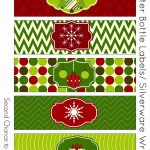 Free Christmas Party Printables | {Holidays} | Party Printables   Christmas Water Bottle Labels Free Printable
