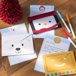 Free Christmas Stationery And Letterheads To Print   Free Printable Christmas Stationery For Kids