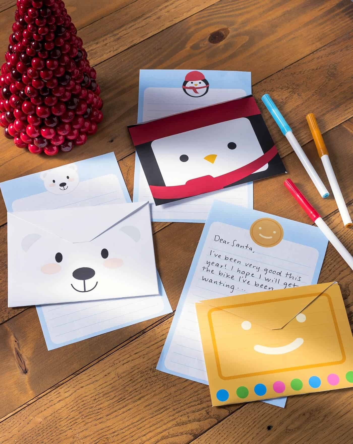 Free Christmas Stationery And Letterheads To Print - Free Printable Christmas Stationery For Kids