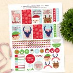 Free Christmas Stickers For Your Planner (Printable!)   Diy Candy   Free Printable Holiday Stickers