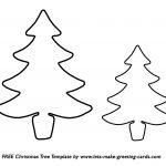 Free Christmas Tree Template. Free Christmas Card Ideas.   Free Printable Christmas Tree Template