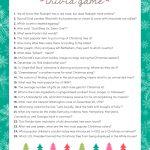 Free Christmas Trivia Game | Lil' Luna   Christian Christmas Games Free Printable
