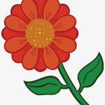 Free Clipart Of A Daisy Flower   Coloured Flower Printable   Free   Free Printable Clipart Of Flowers